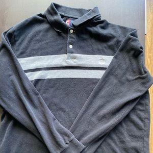Chaps Long sleeve polo / Rugby shirt XL